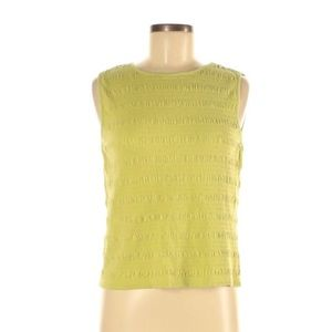Talbots Tank Top, Size Medium, Green